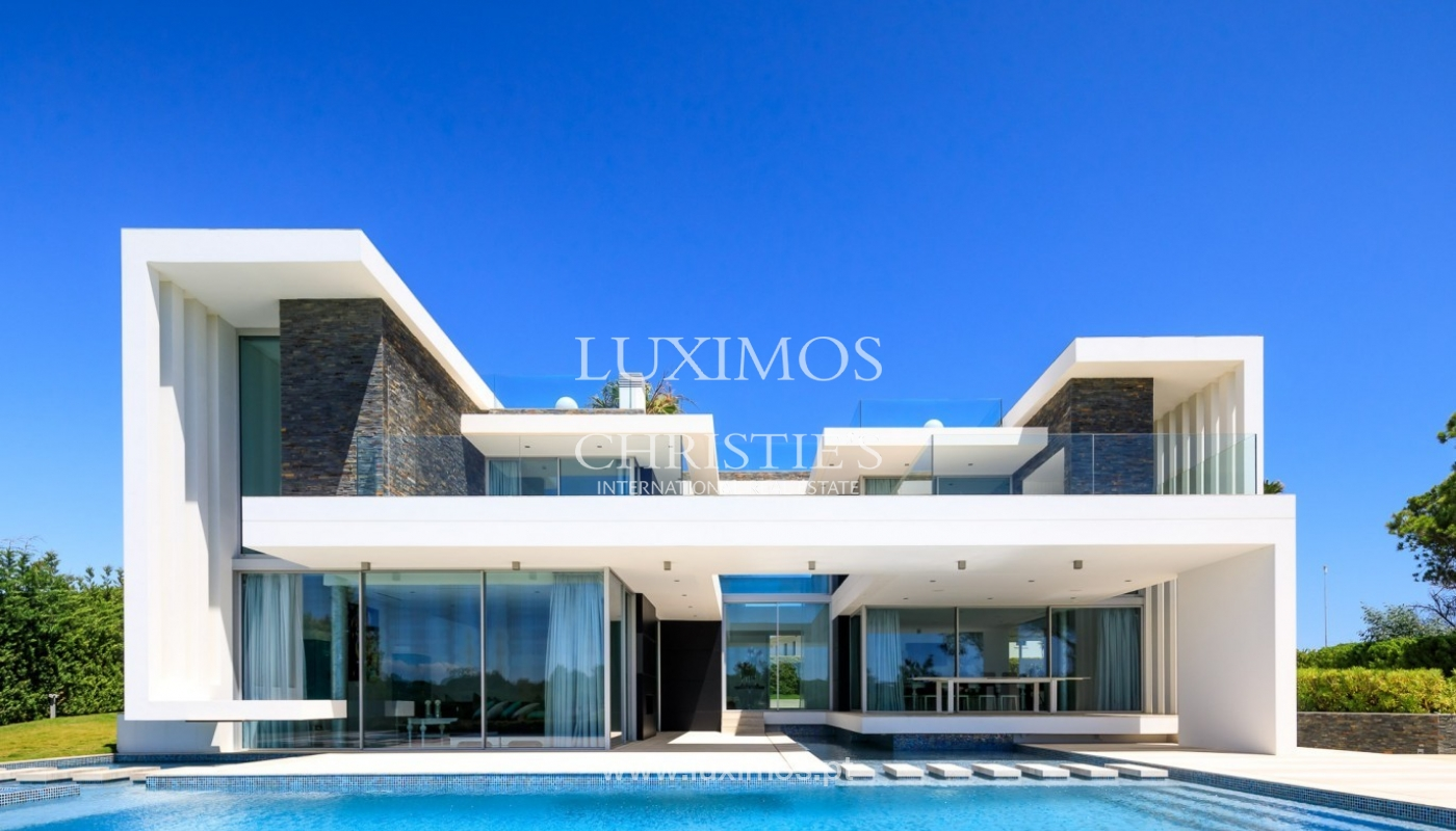 Sale of modern villa with golf view in Vale do Lobo, Algarve ...