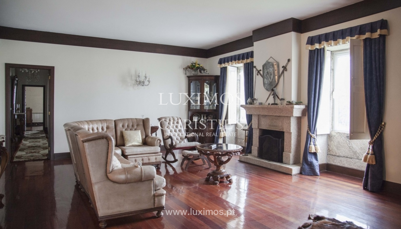 Country House with swimming pool, tennis court and plot area in Porto, Portugal_8389