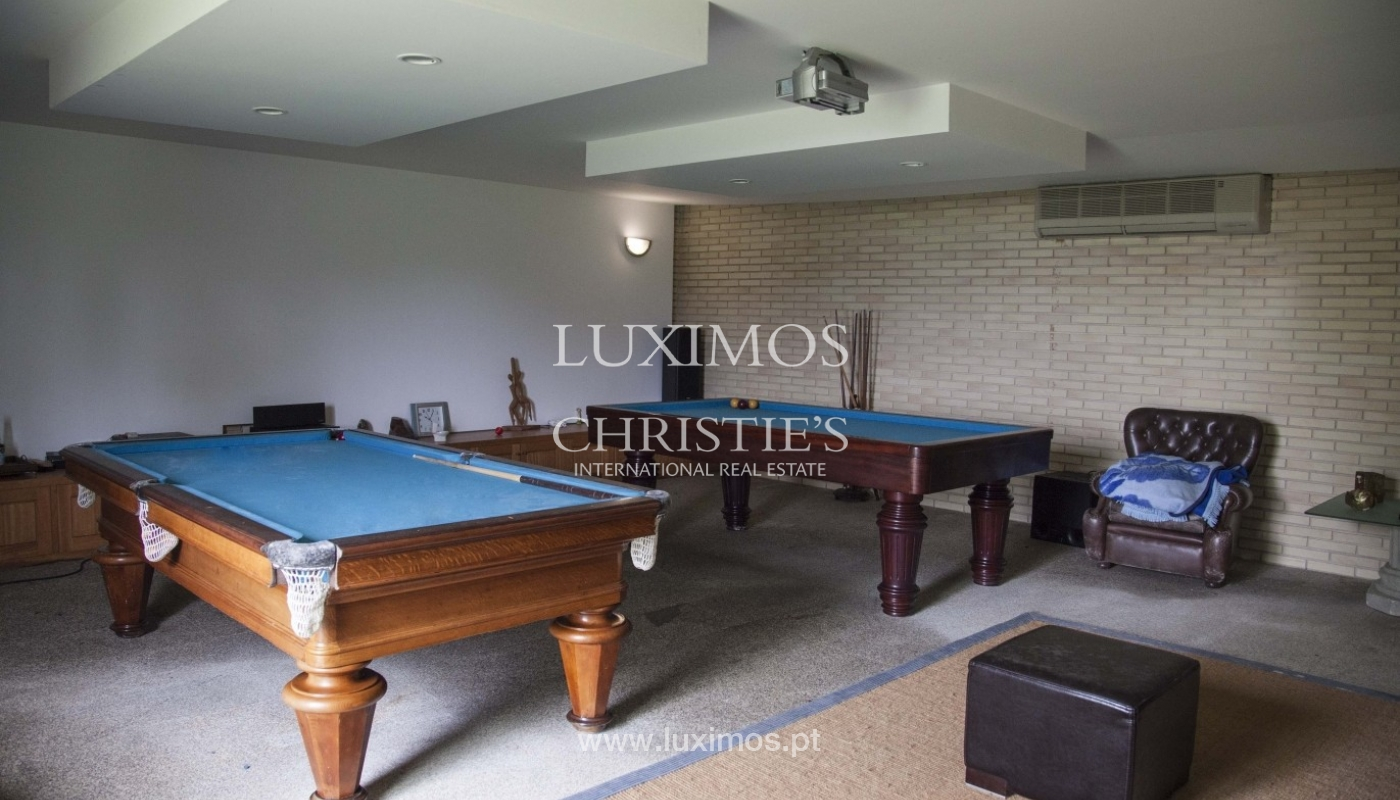Country House with swimming pool, tennis court and plot area in Porto, Portugal_8391