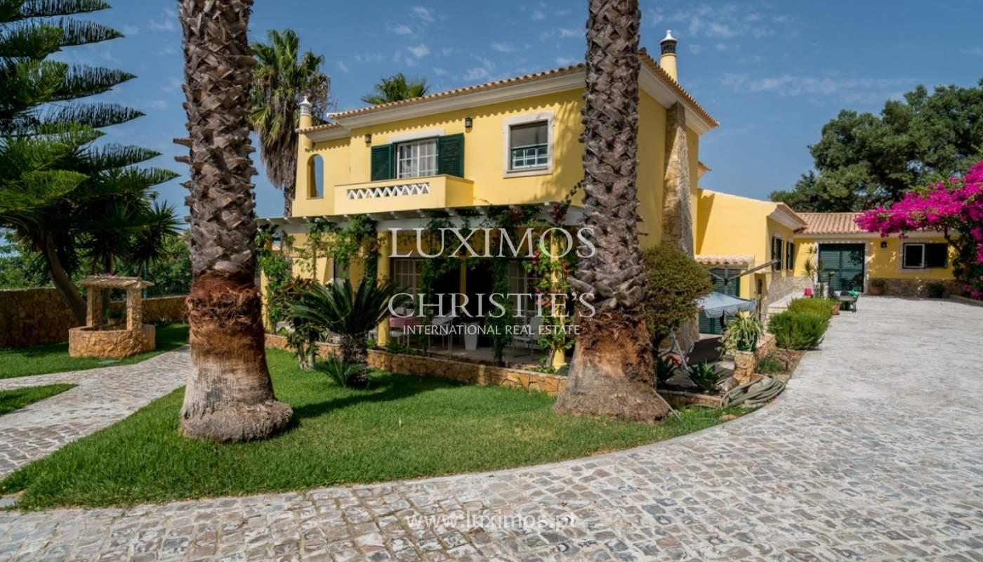 Verkauf von villa mit Meerblick in Estoi, Faro, Algarve, Portugal_84216