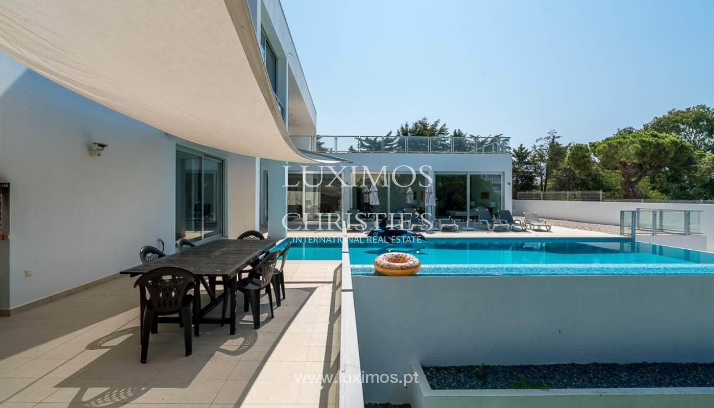Venta de villa moderna con vista mar en Albufeira, Algarve, Portugal_85155