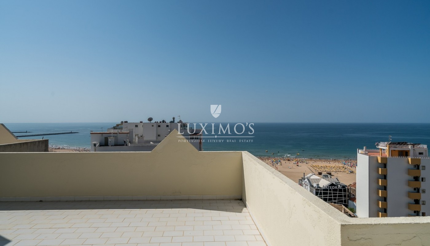 Sale of sea view penthouse apartment in Portimão, Algarve, Portugal_85509