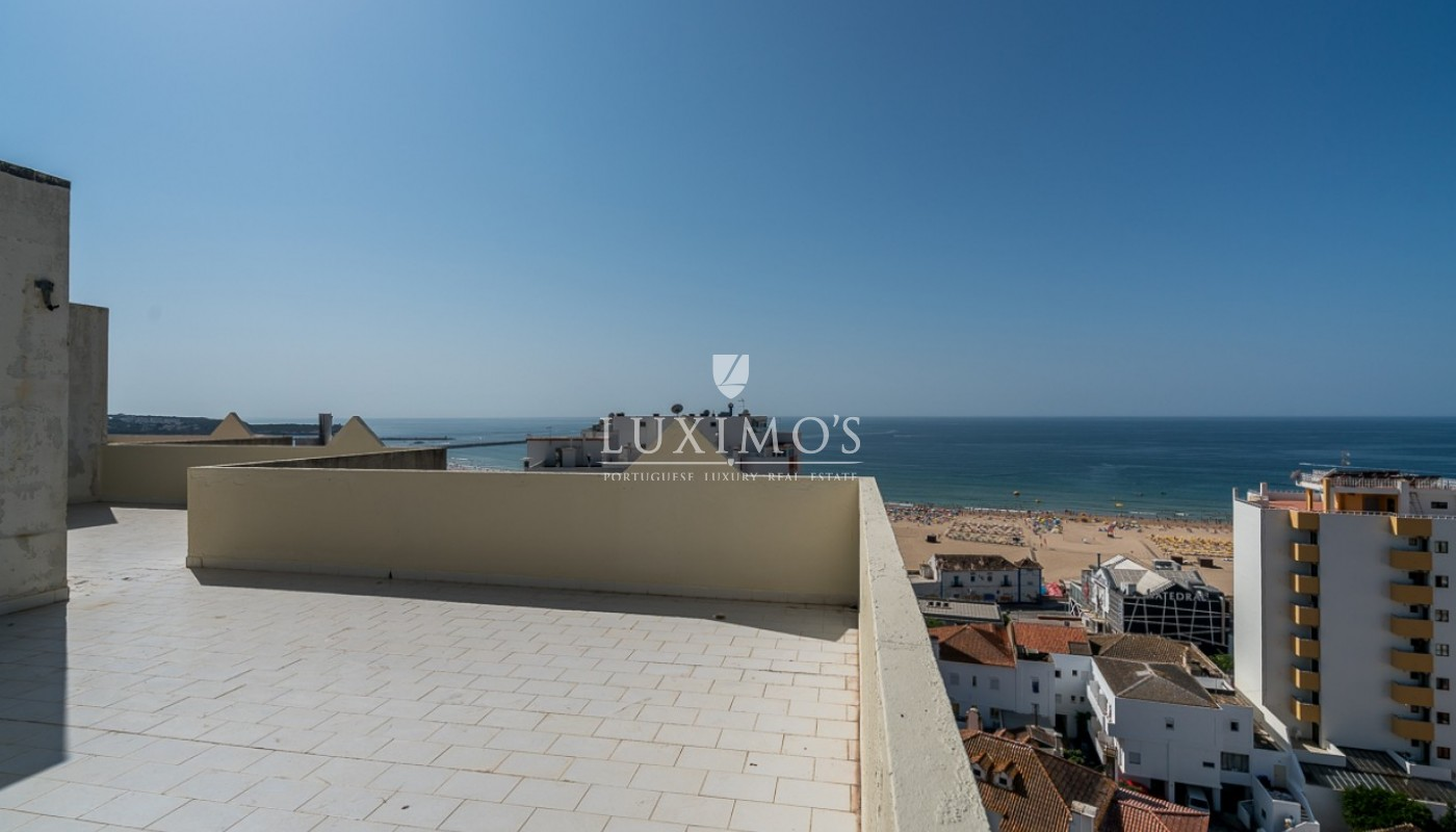Sale of sea view penthouse apartment in Portimão, Algarve, Portugal_85518