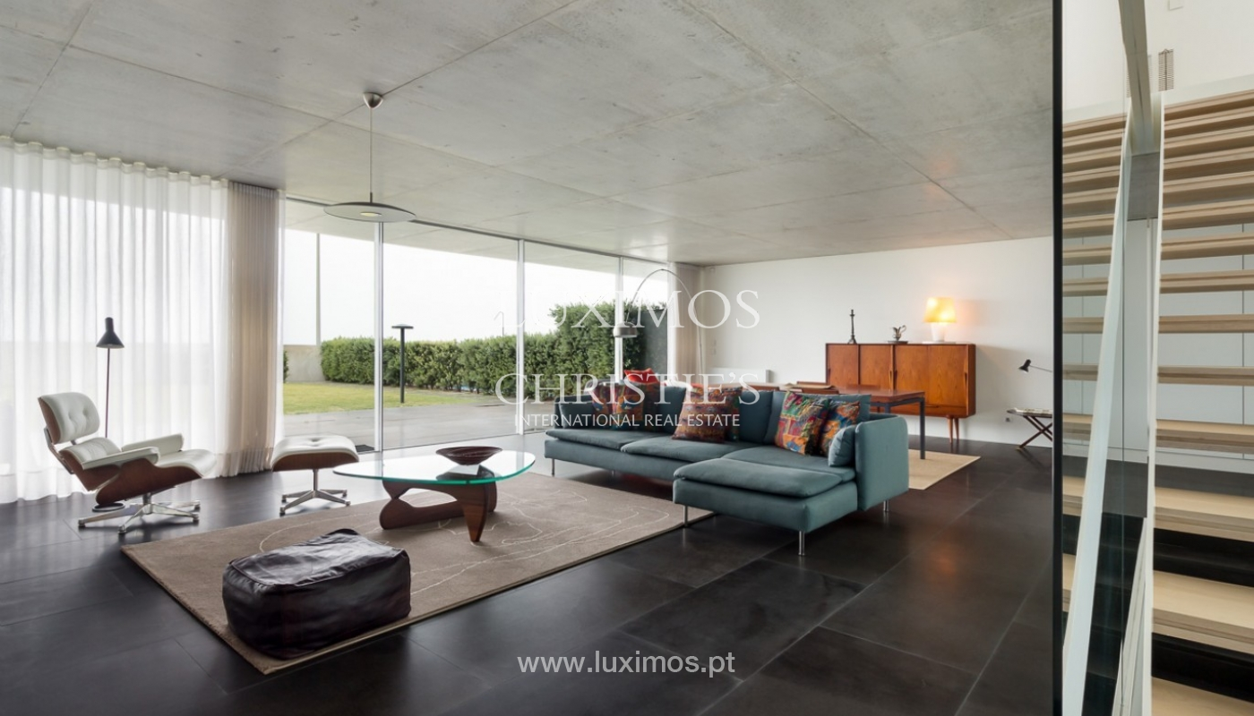 Sale of contemporary villa, 1st line of sea, Moledo, Portugal _85525