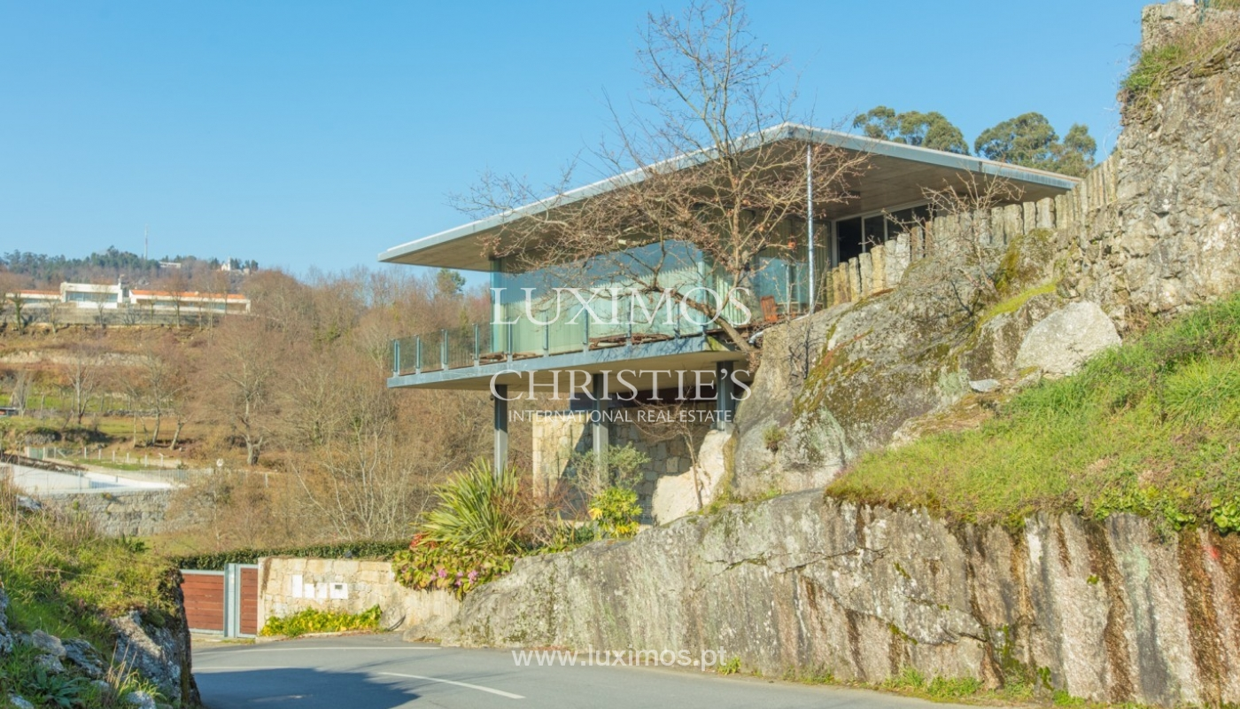 Villa der zeitgenössischen Architektur, Paredes de Coura, Portugal _85646