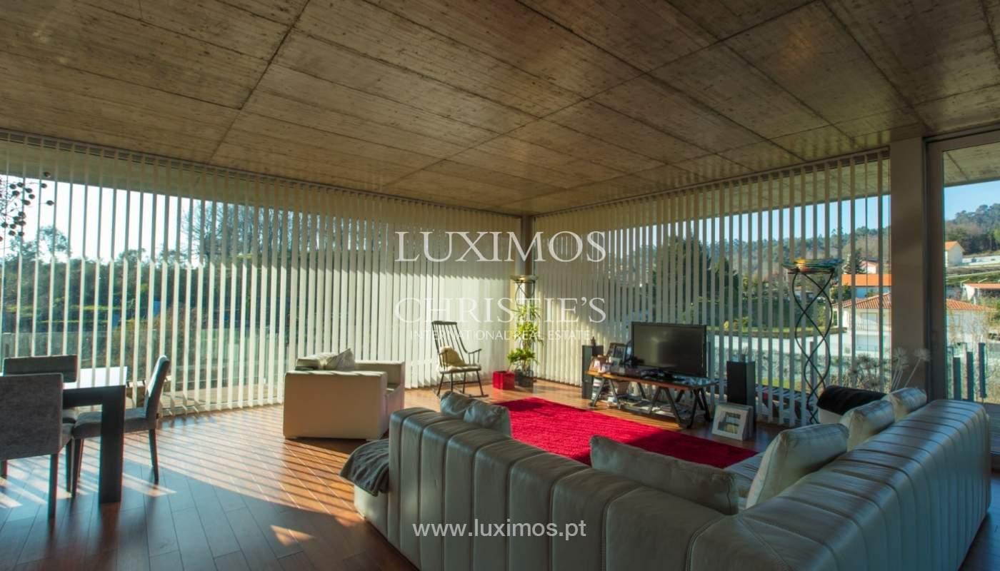 Villa der zeitgenössischen Architektur, Paredes de Coura, Portugal _85647