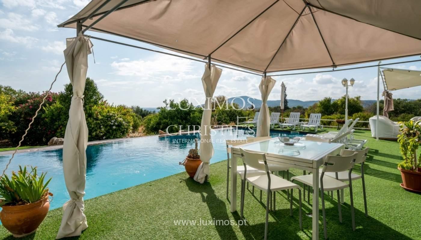 Sale of villa with ocean view in Estoi, Faro, Algarve, Portugal._85993