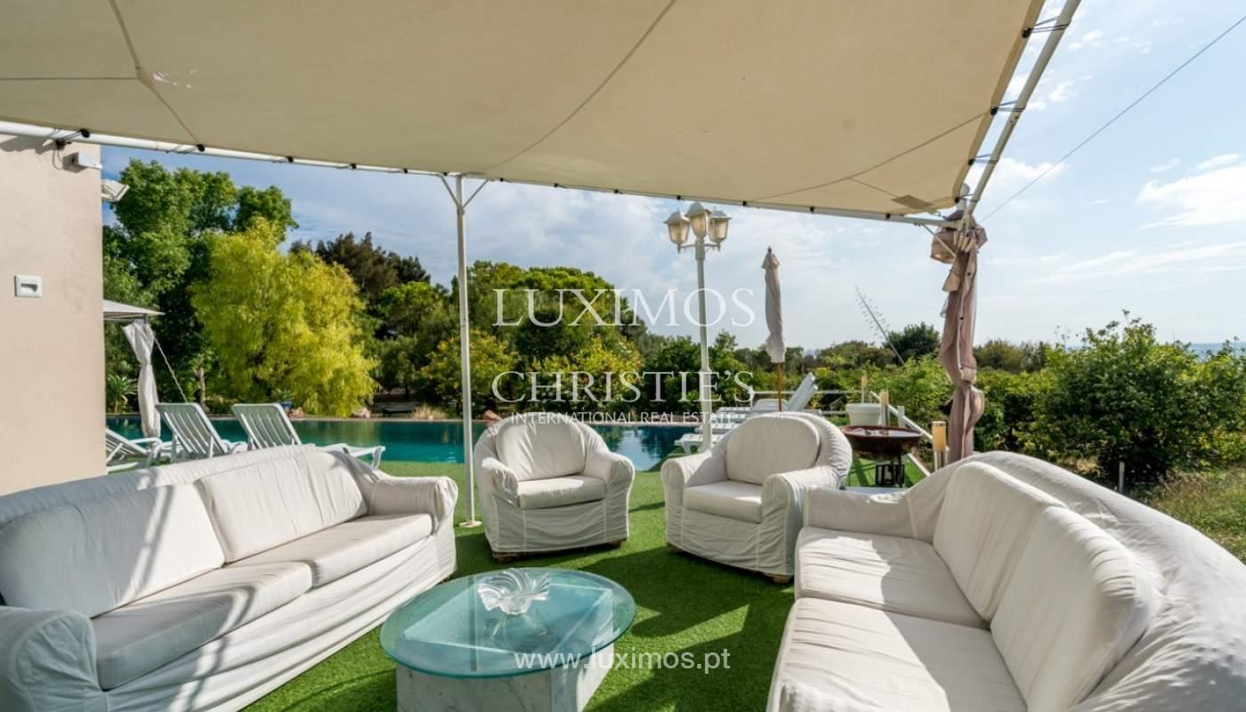 Sale of villa with ocean view in Estoi, Faro, Algarve, Portugal._85994
