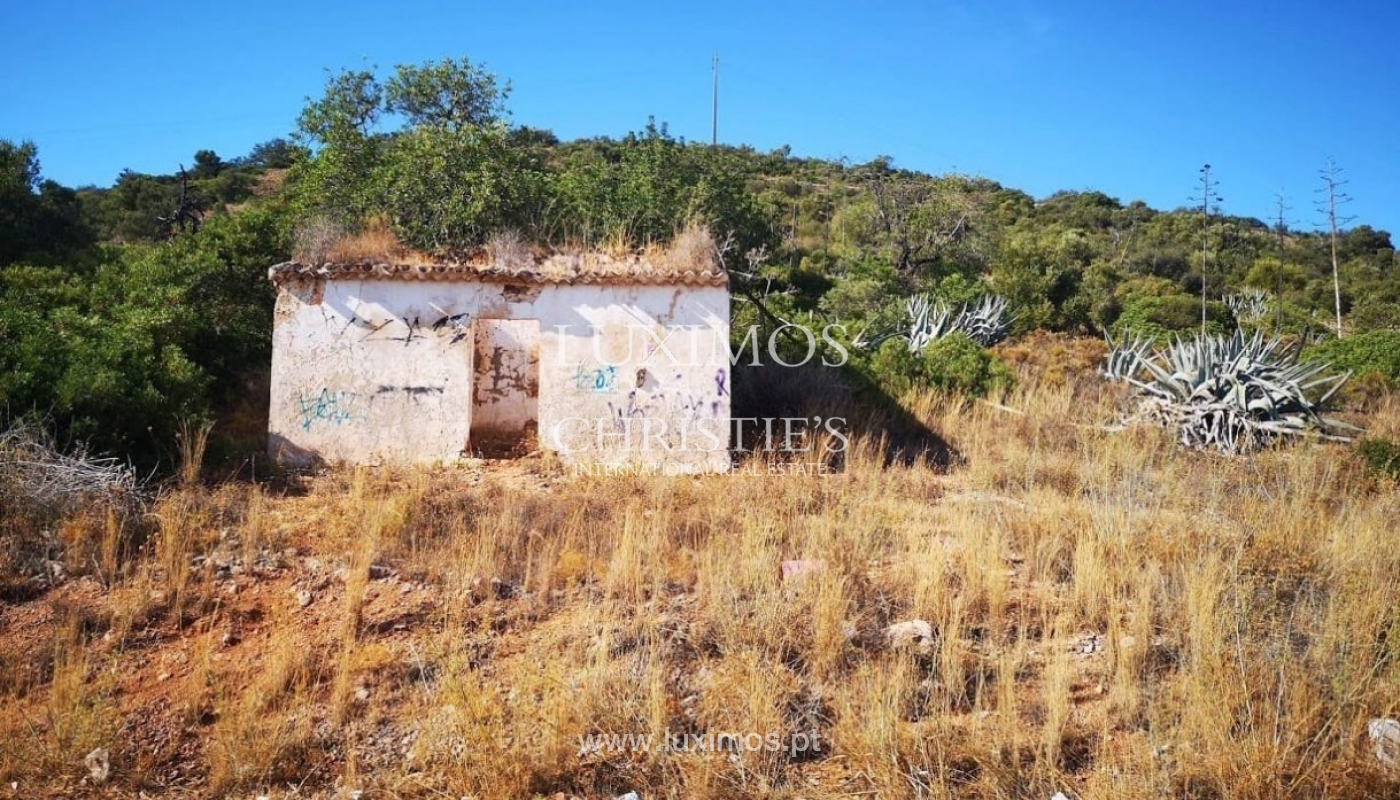 Plot area for sale to build a villa, sea view, Loulé, Algarve,Portugal_86193