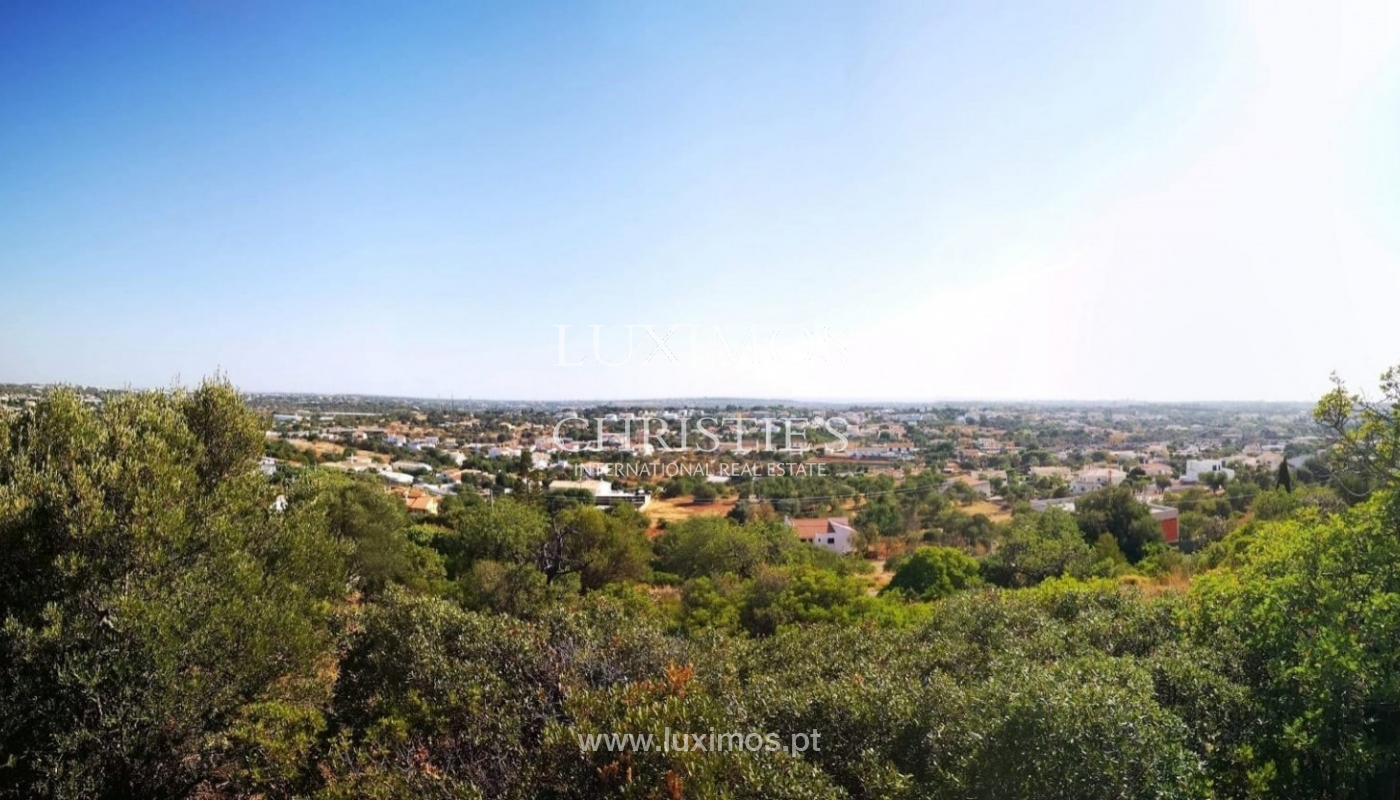 Terreno en venta para construir chalet, vistas mar, Algarve, Portugal_86194