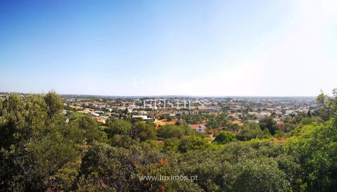 Plot area for sale to build a villa, sea view, Loulé, Algarve,Portugal_86194