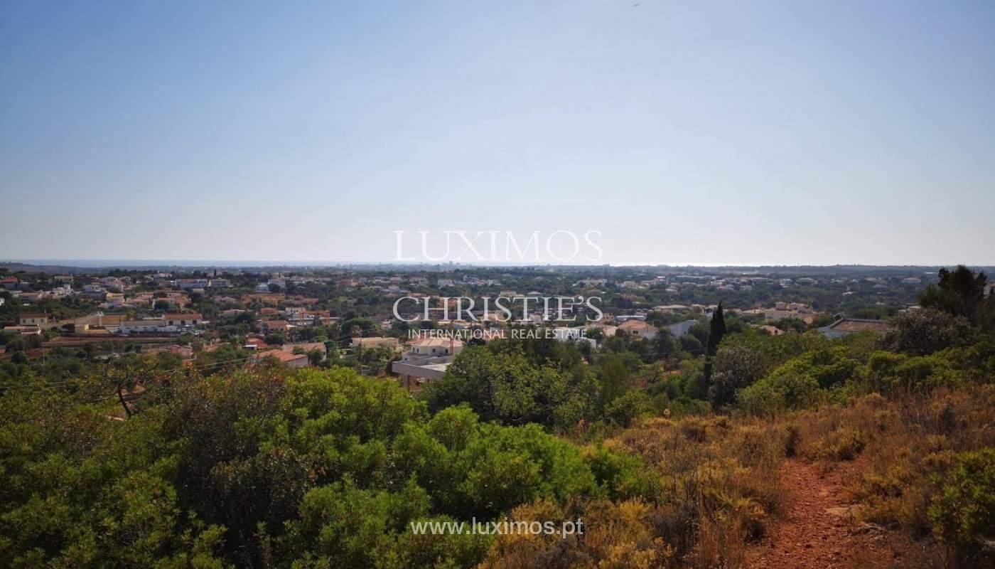 Plot area for sale to build a villa, sea view, Loulé, Algarve,Portugal_86195