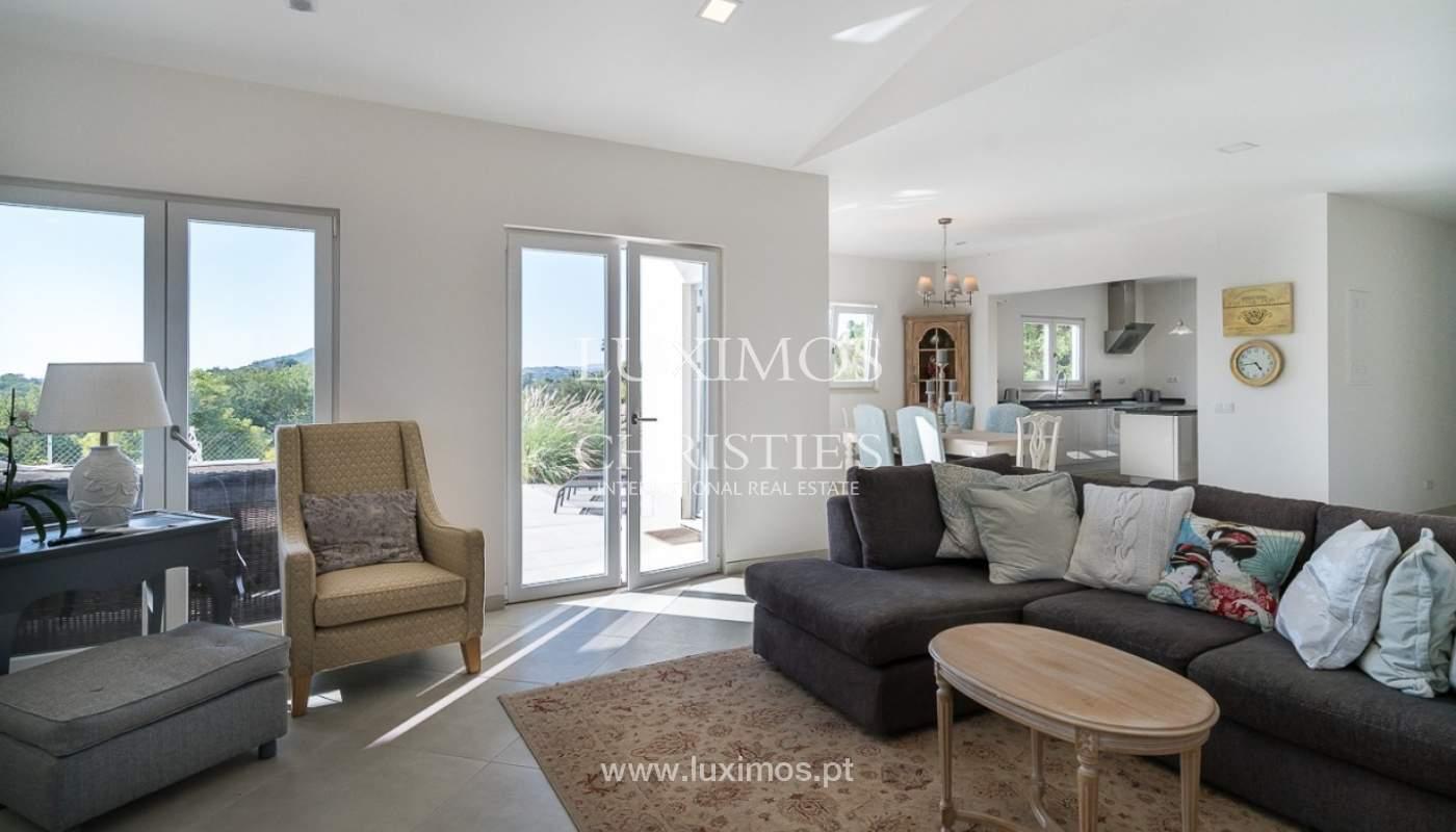 Venda de Moradia com vista mar e campo em Loulé, Algarve_86601