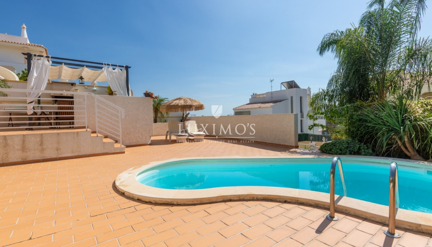 Sale of villa with pool and sea view in Albufeira, Algarve, Portugal_86630