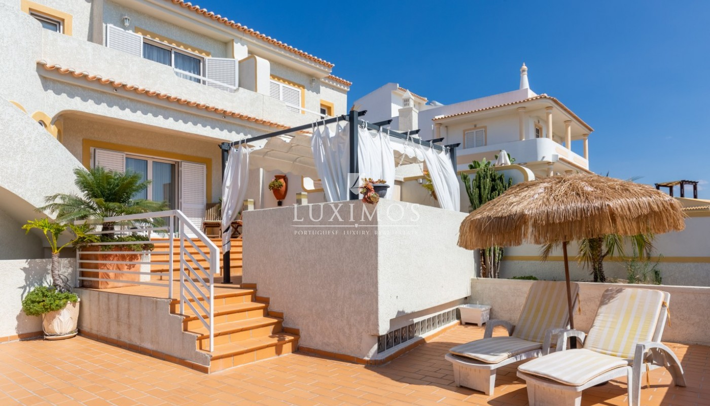 Sale of villa with pool and sea view in Albufeira, Algarve, Portugal_86631