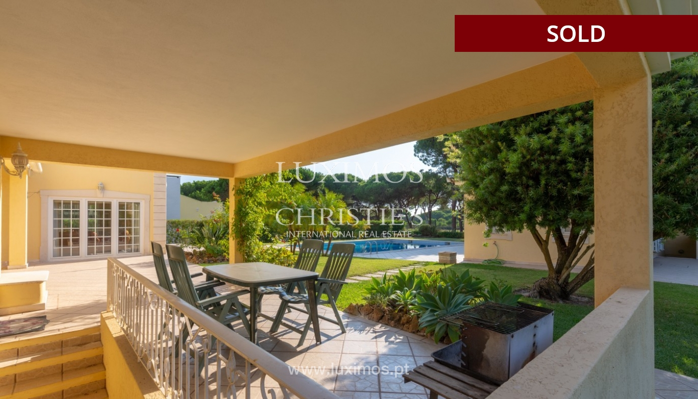 Sale of luxury villa front golf in Vilamoura, Algarve, Portugal_86651