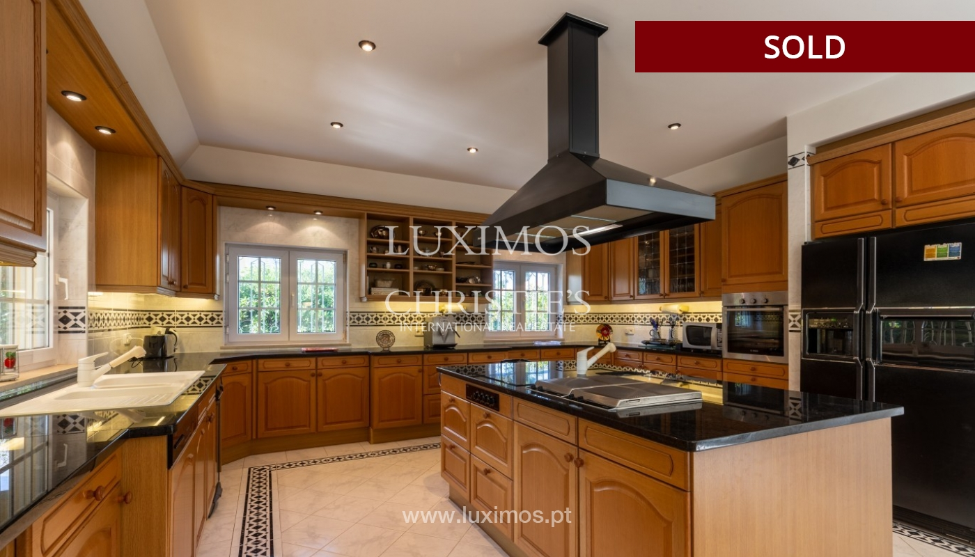 Sale of luxury villa front golf in Vilamoura, Algarve, Portugal_86653