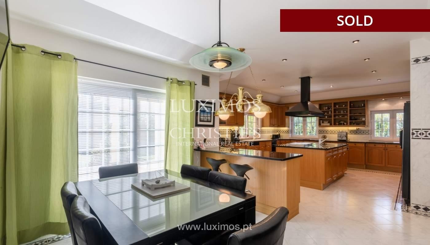Sale of luxury villa front golf in Vilamoura, Algarve, Portugal_86655