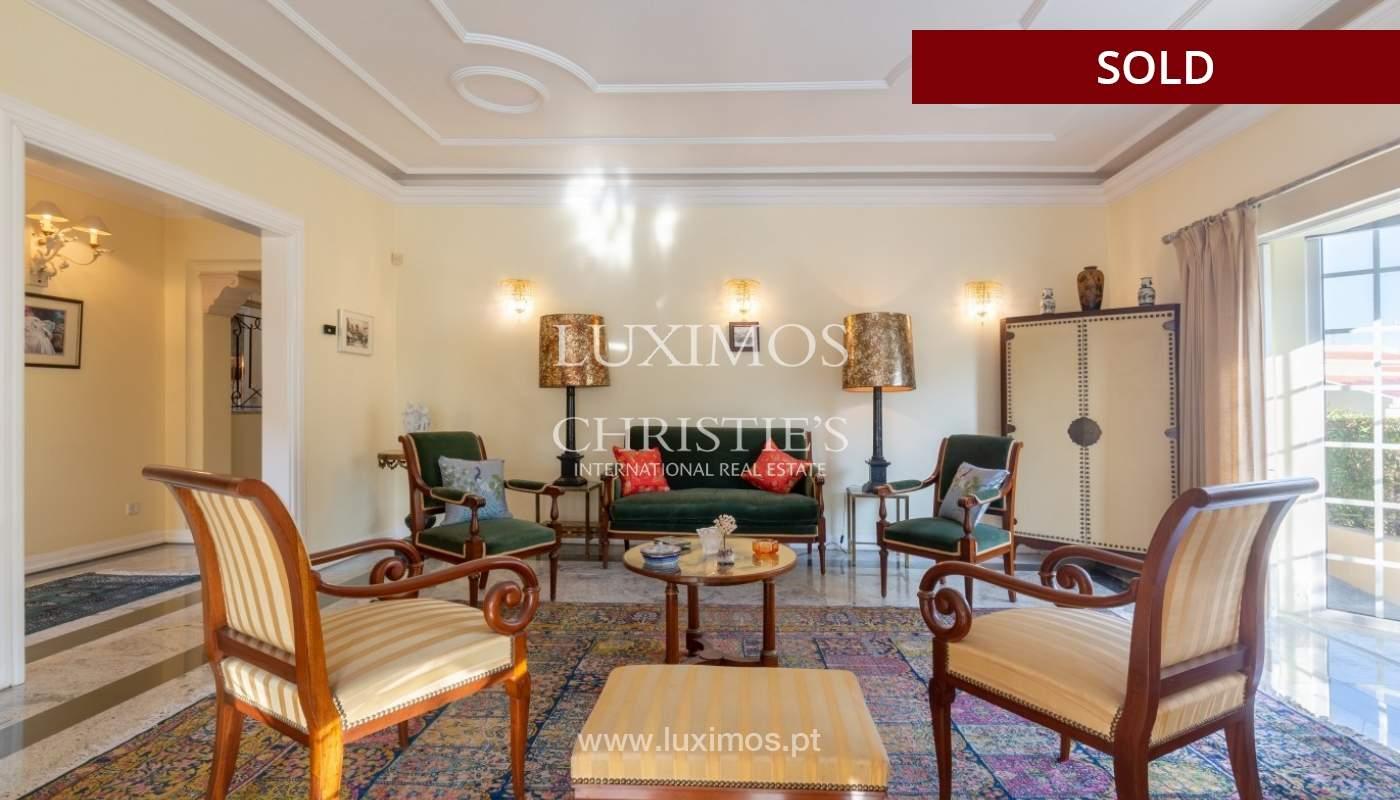 Sale of luxury villa front golf in Vilamoura, Algarve, Portugal_86659