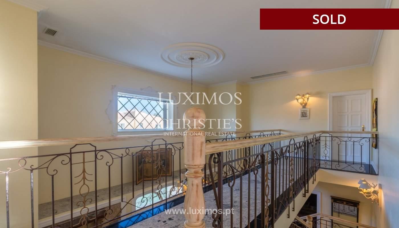 Sale of luxury villa front golf in Vilamoura, Algarve, Portugal_86662