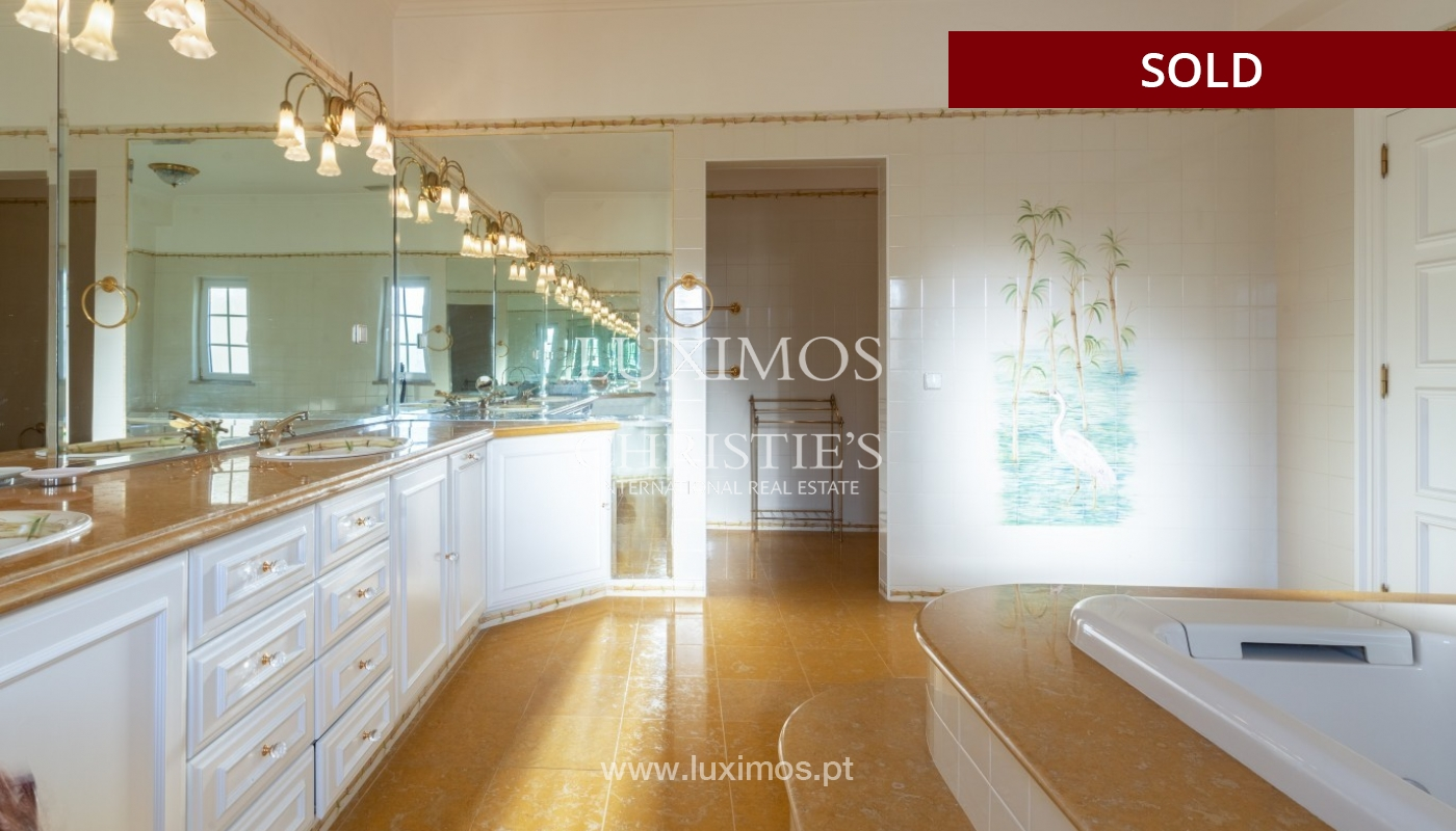 Sale of luxury villa front golf in Vilamoura, Algarve, Portugal_86667