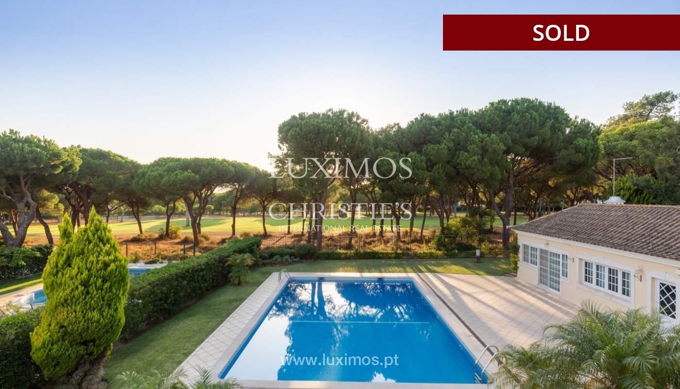 Sale of luxury villa front golf in Vilamoura, Algarve, Portugal_86670