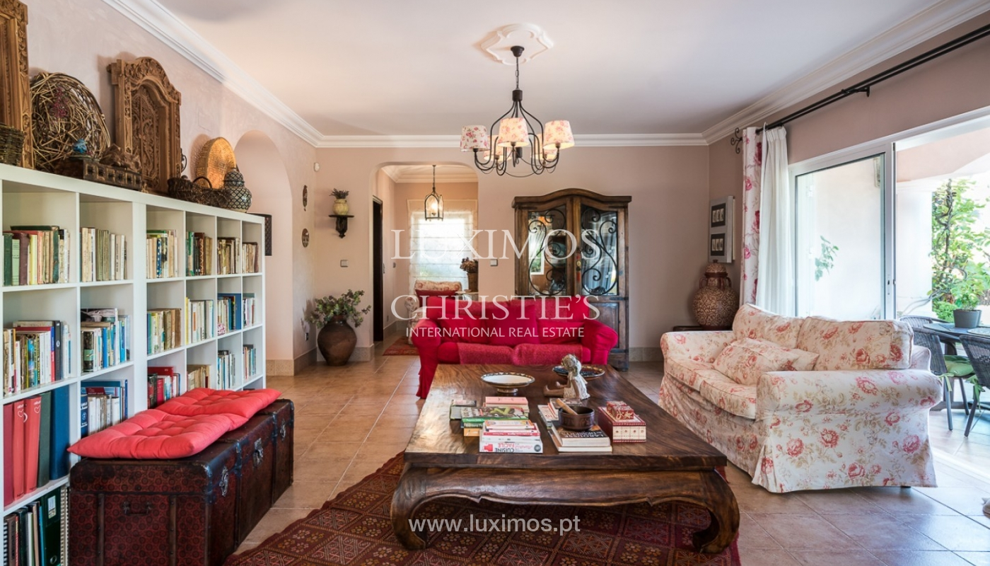 Sale of villa with pool and sea view in Loulé, Algarve, Portugal_87159