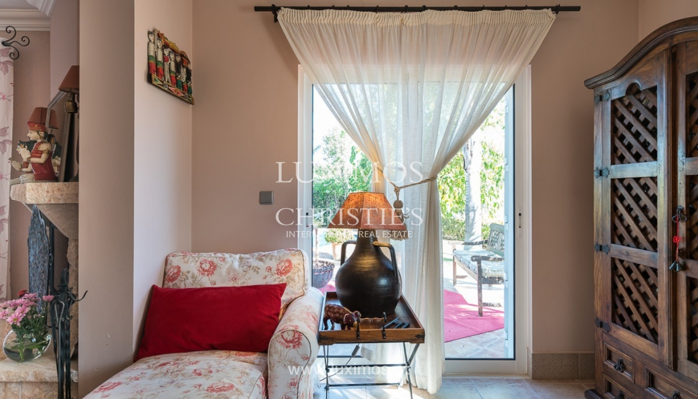 Sale of villa with pool and sea view in Loulé, Algarve, Portugal_87160