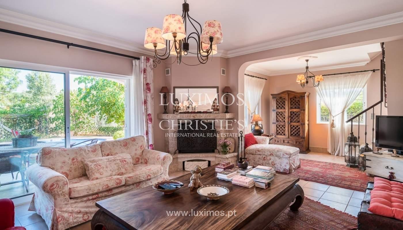 Verkauf einer Villa mit Pool und Meerblick in Loulé, Algarve, Portugal_87161
