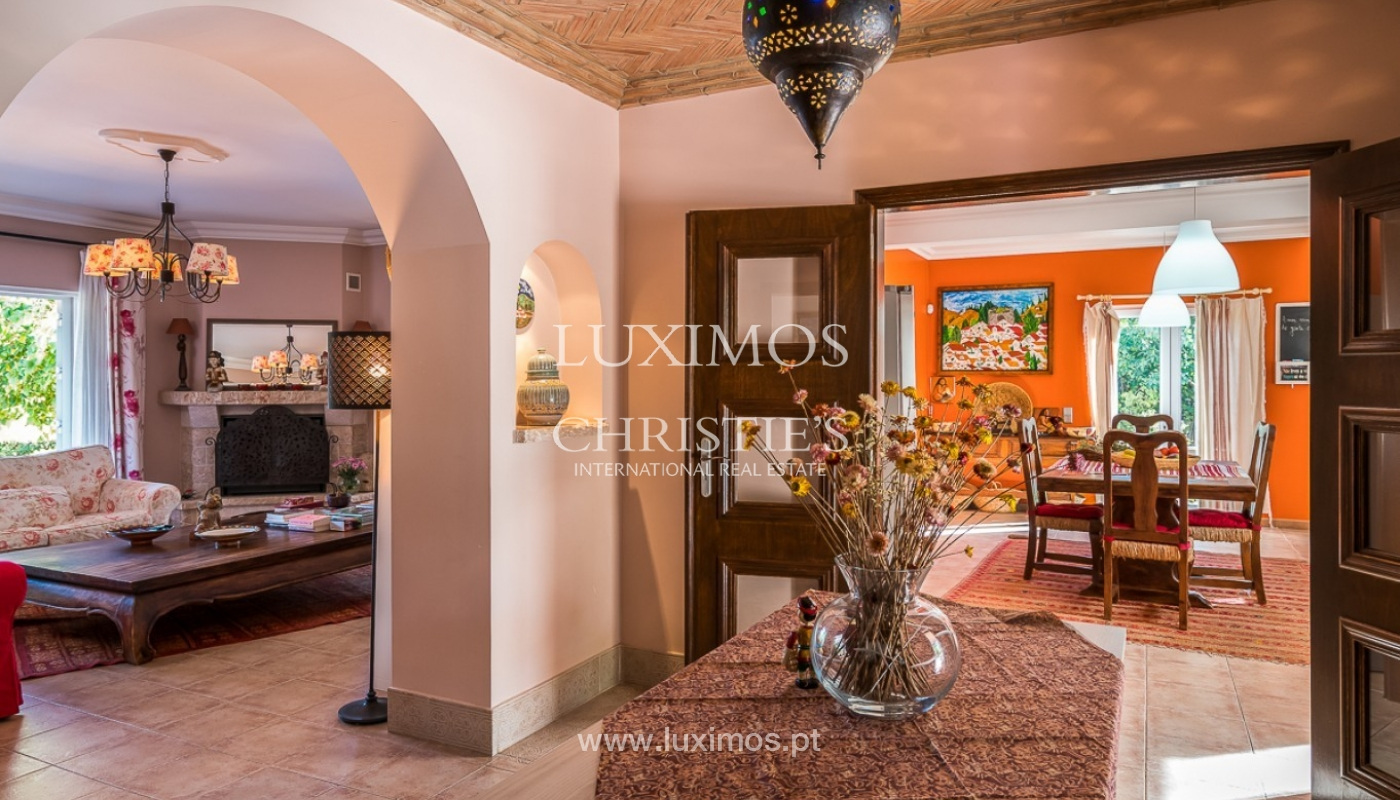 Sale of villa with pool and sea view in Loulé, Algarve, Portugal_87163