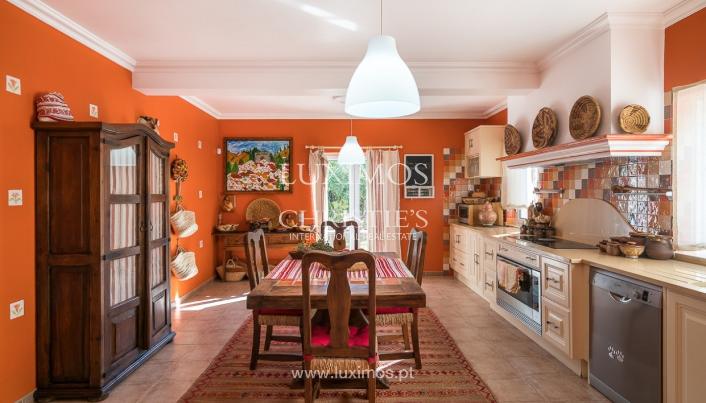 Sale of villa with pool and sea view in Loulé, Algarve, Portugal_87167