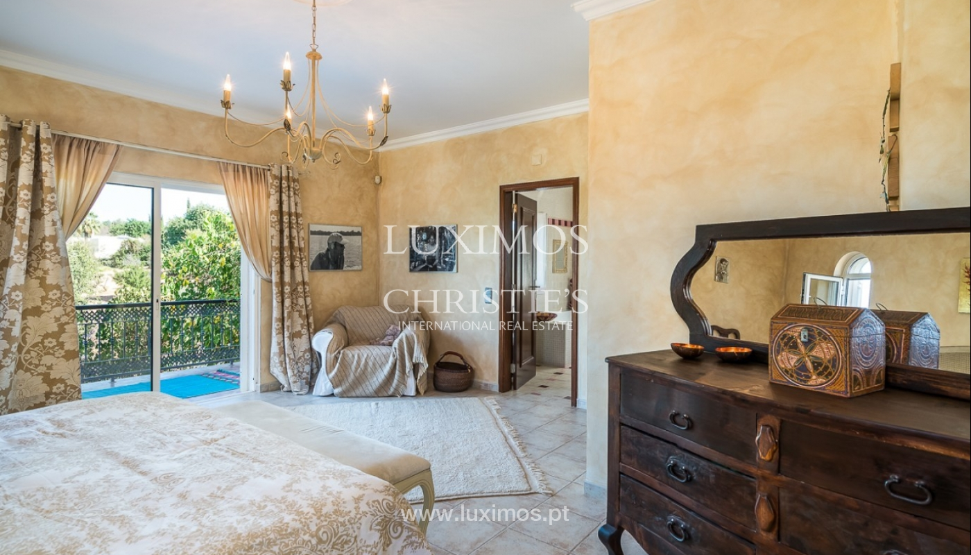 Sale of villa with pool and sea view in Loulé, Algarve, Portugal_87172