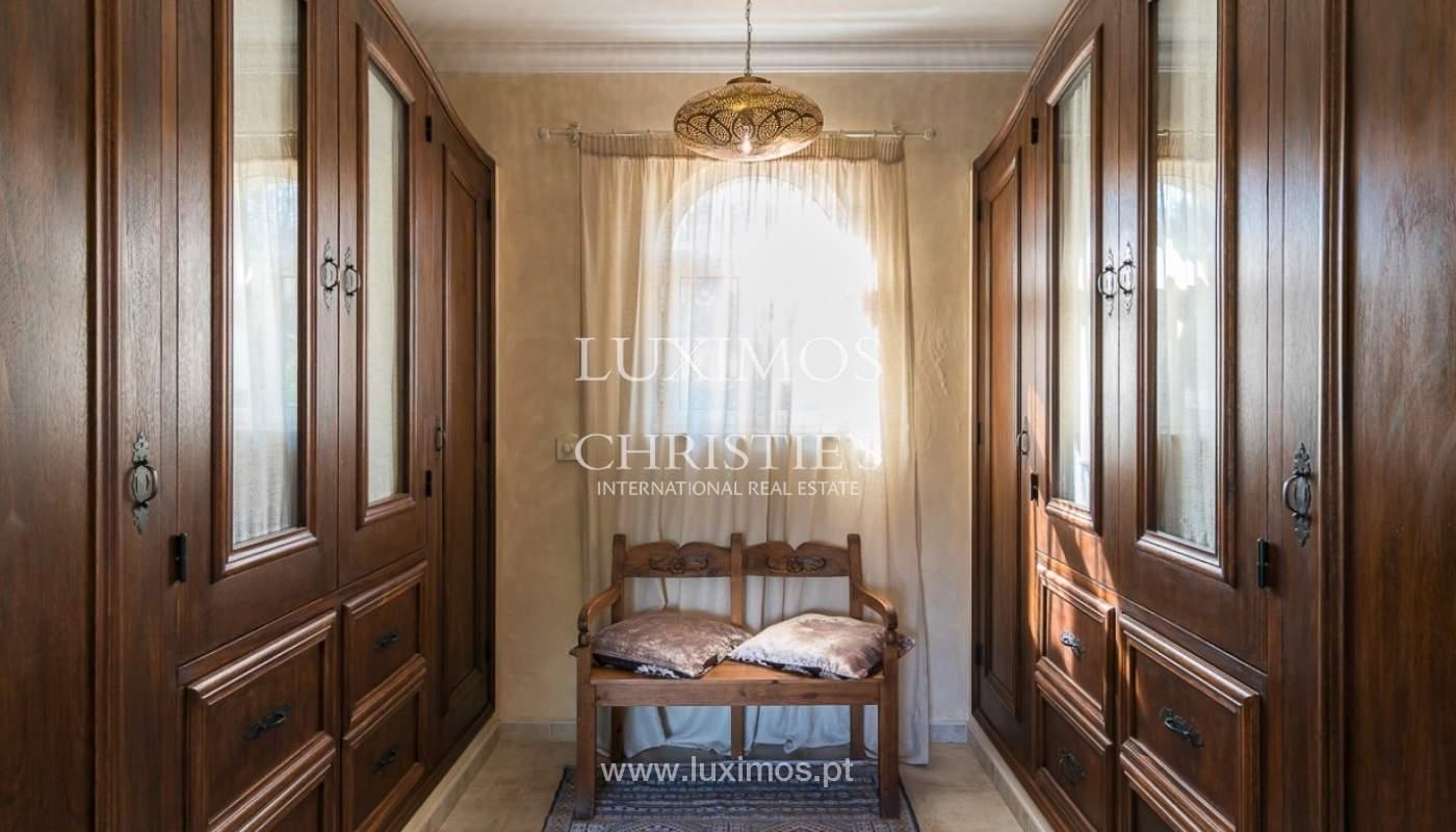 Verkauf einer Villa mit Pool und Meerblick in Loulé, Algarve, Portugal_87173