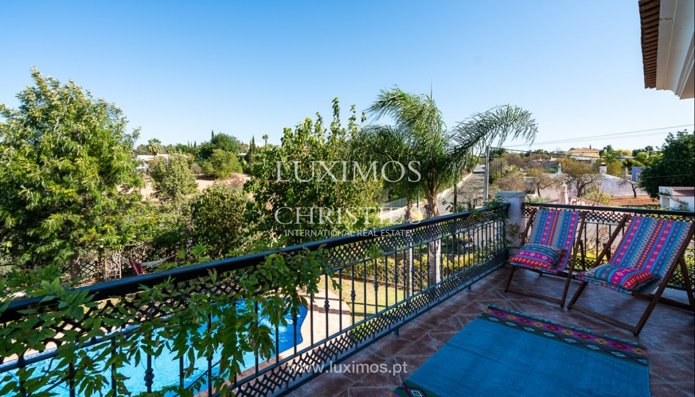 Sale of villa with pool and sea view in Loulé, Algarve, Portugal_87175