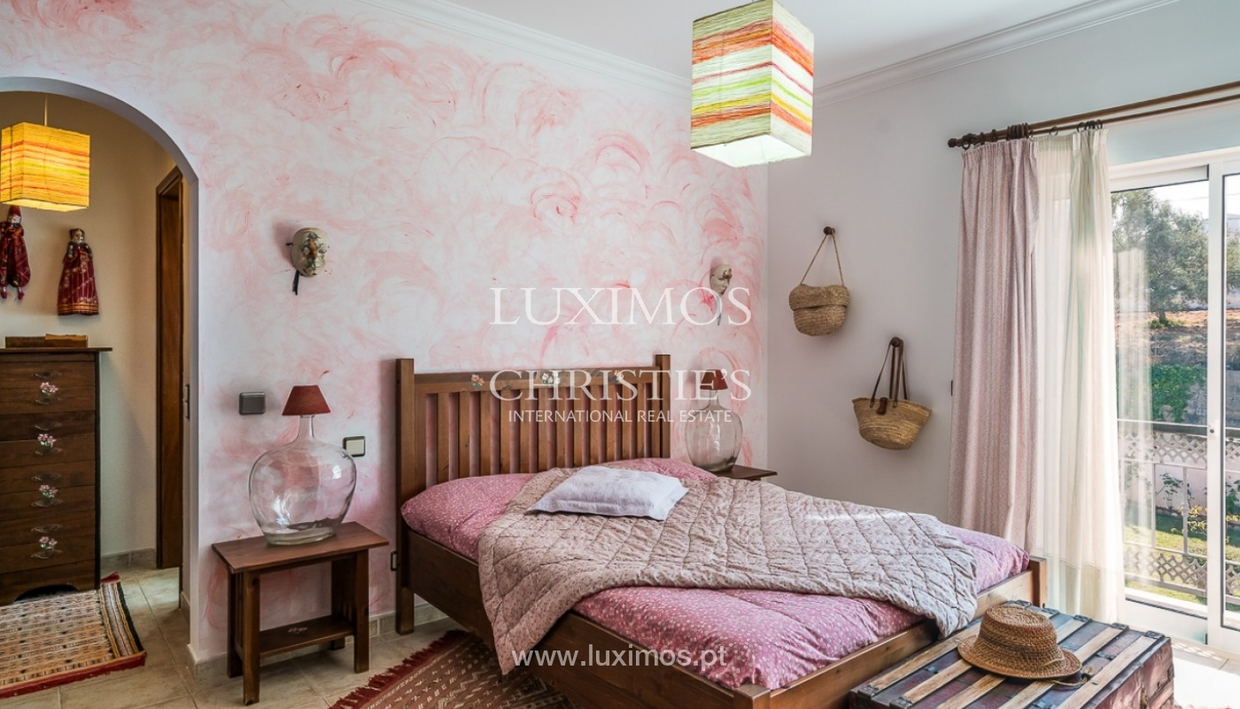 Sale of villa with pool and sea view in Loulé, Algarve, Portugal_87177
