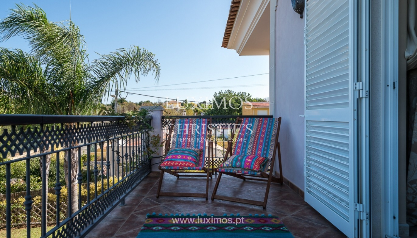Sale of villa with pool and sea view in Loulé, Algarve, Portugal_87178