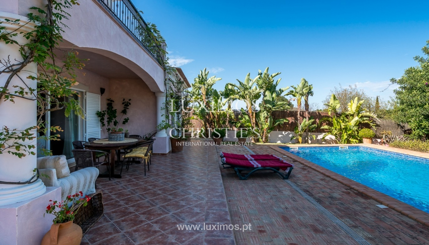 Sale of villa with pool and sea view in Loulé, Algarve, Portugal_87184