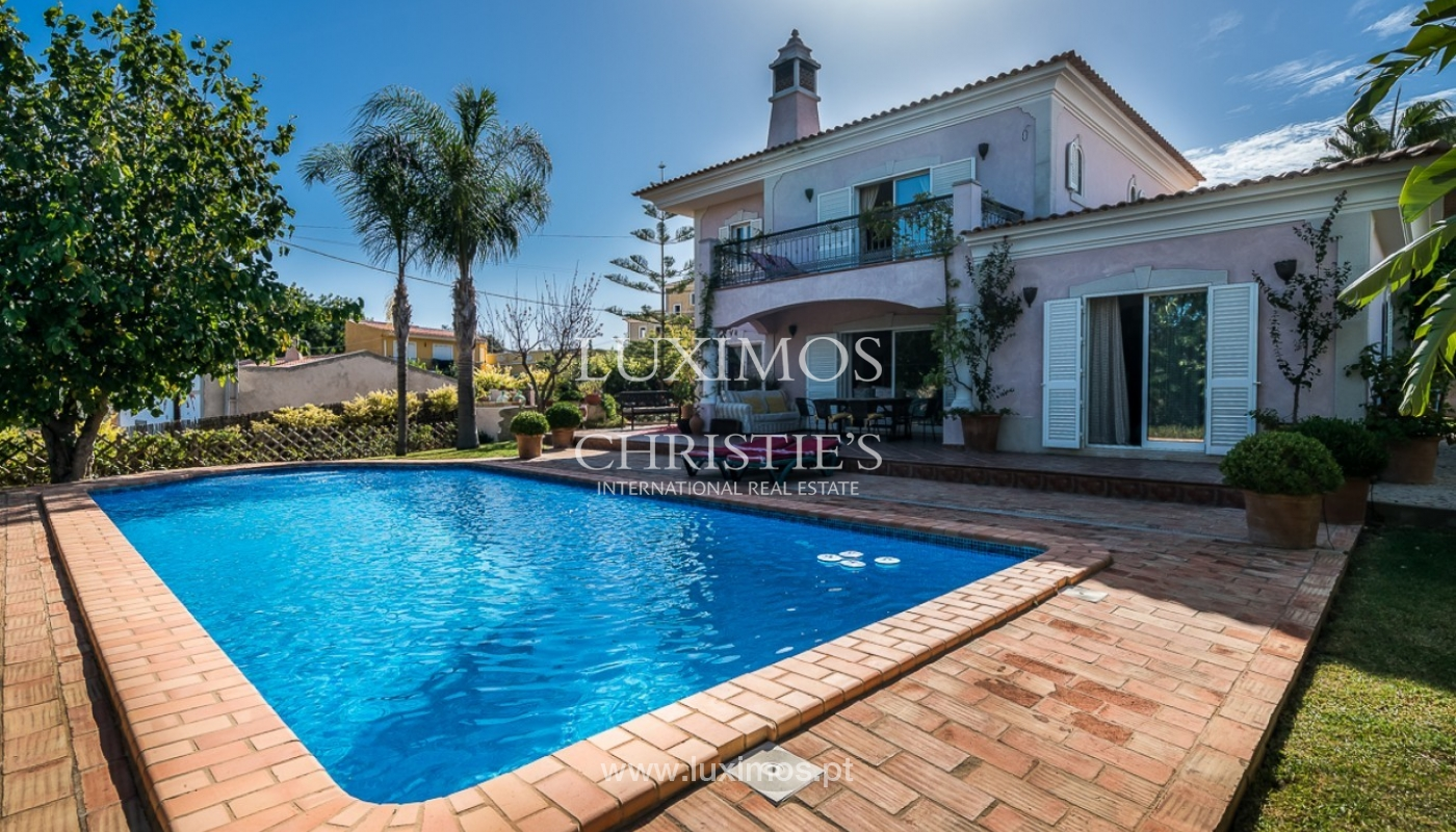 Verkauf einer Villa mit Pool und Meerblick in Loulé, Algarve, Portugal_87187