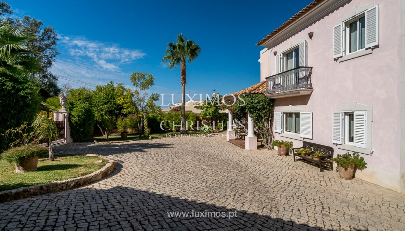 Sale of villa with pool and sea view in Loulé, Algarve, Portugal_87192