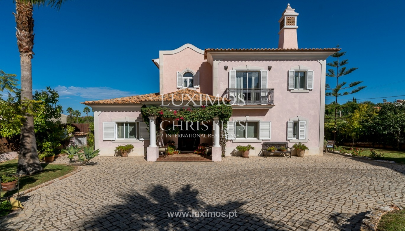 Sale of villa with pool and sea view in Loulé, Algarve, Portugal_87193