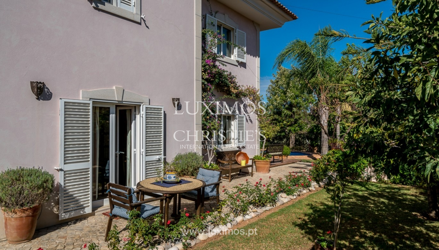 Sale of villa with pool and sea view in Loulé, Algarve, Portugal_87194