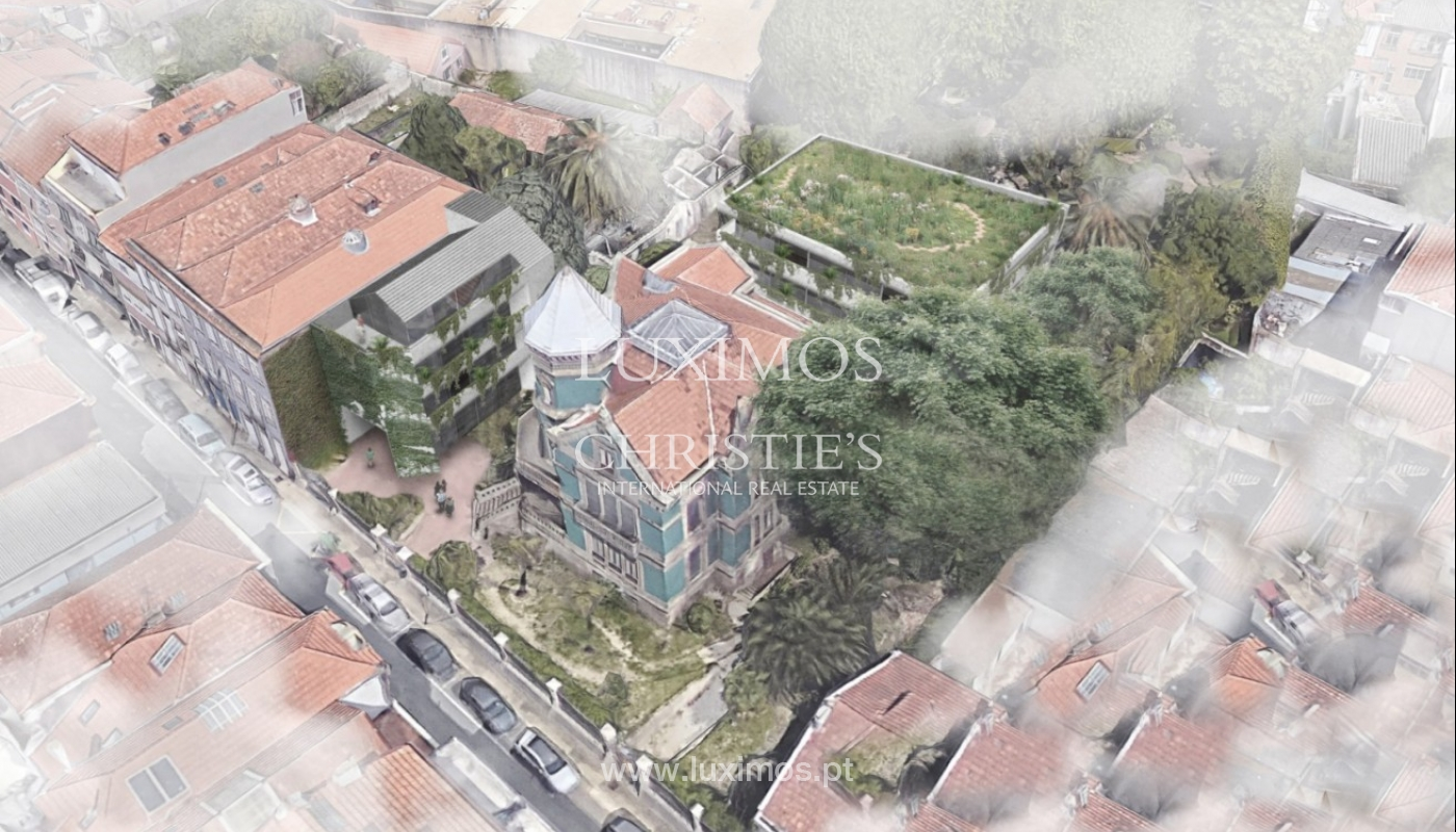 Building project for conversion into a Hotel of Charm, Porto, Portugal_88145