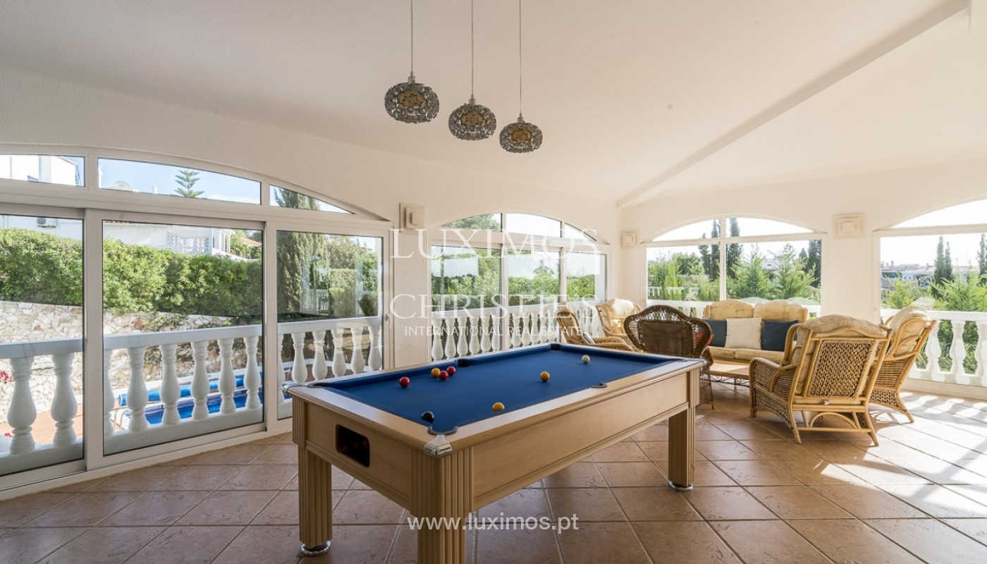 Sale of villa with pool and garden in Carvoeiro, Algarve, Portugal_89307