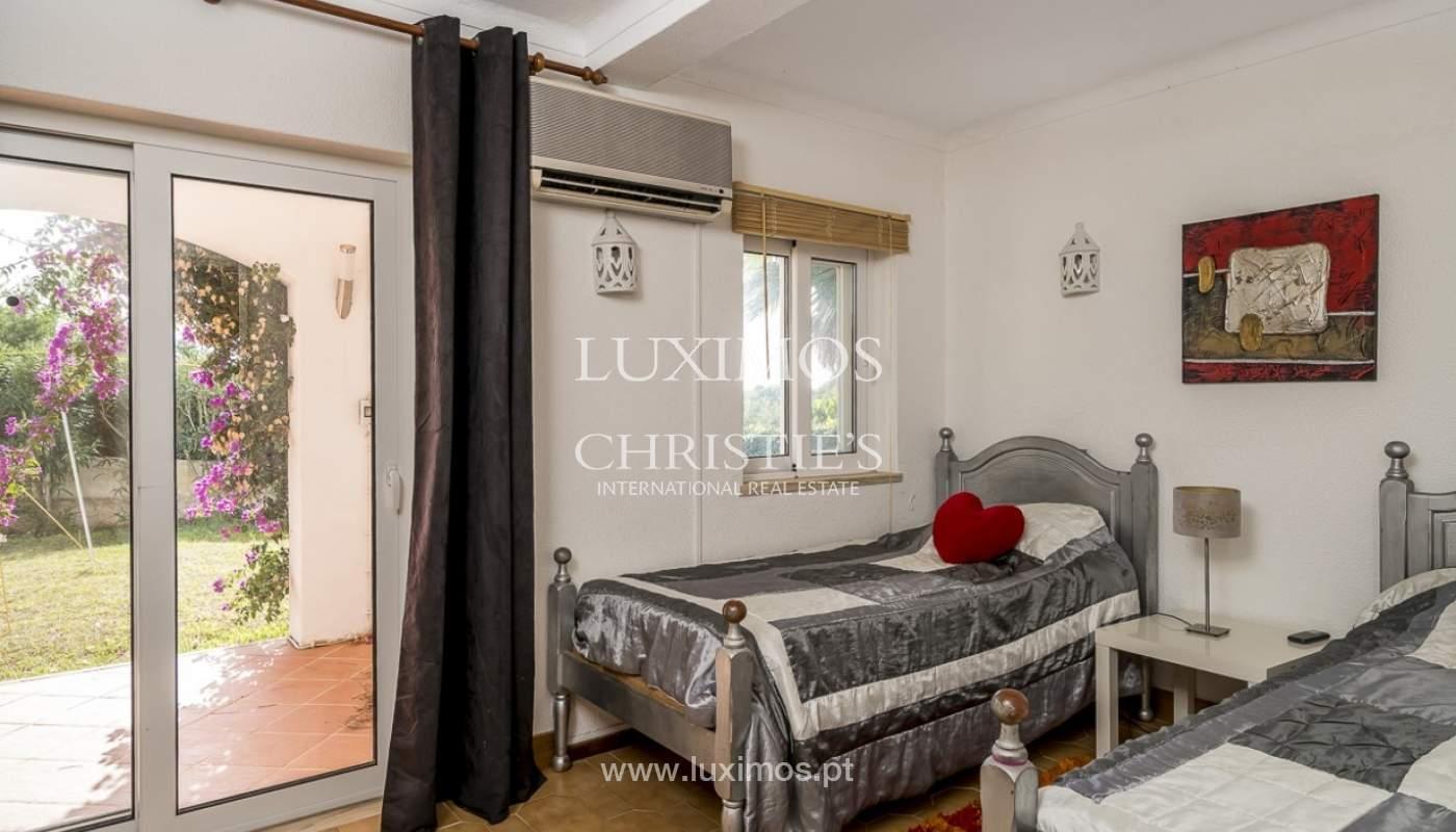 Sale of villa with pool and garden in Carvoeiro, Algarve, Portugal_89316