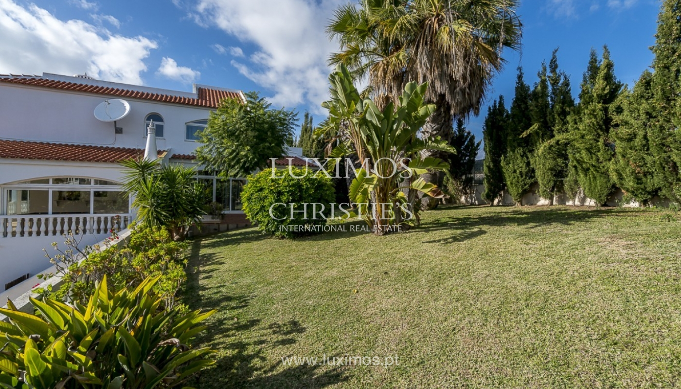 Sale of villa with pool and garden in Carvoeiro, Algarve, Portugal_89328