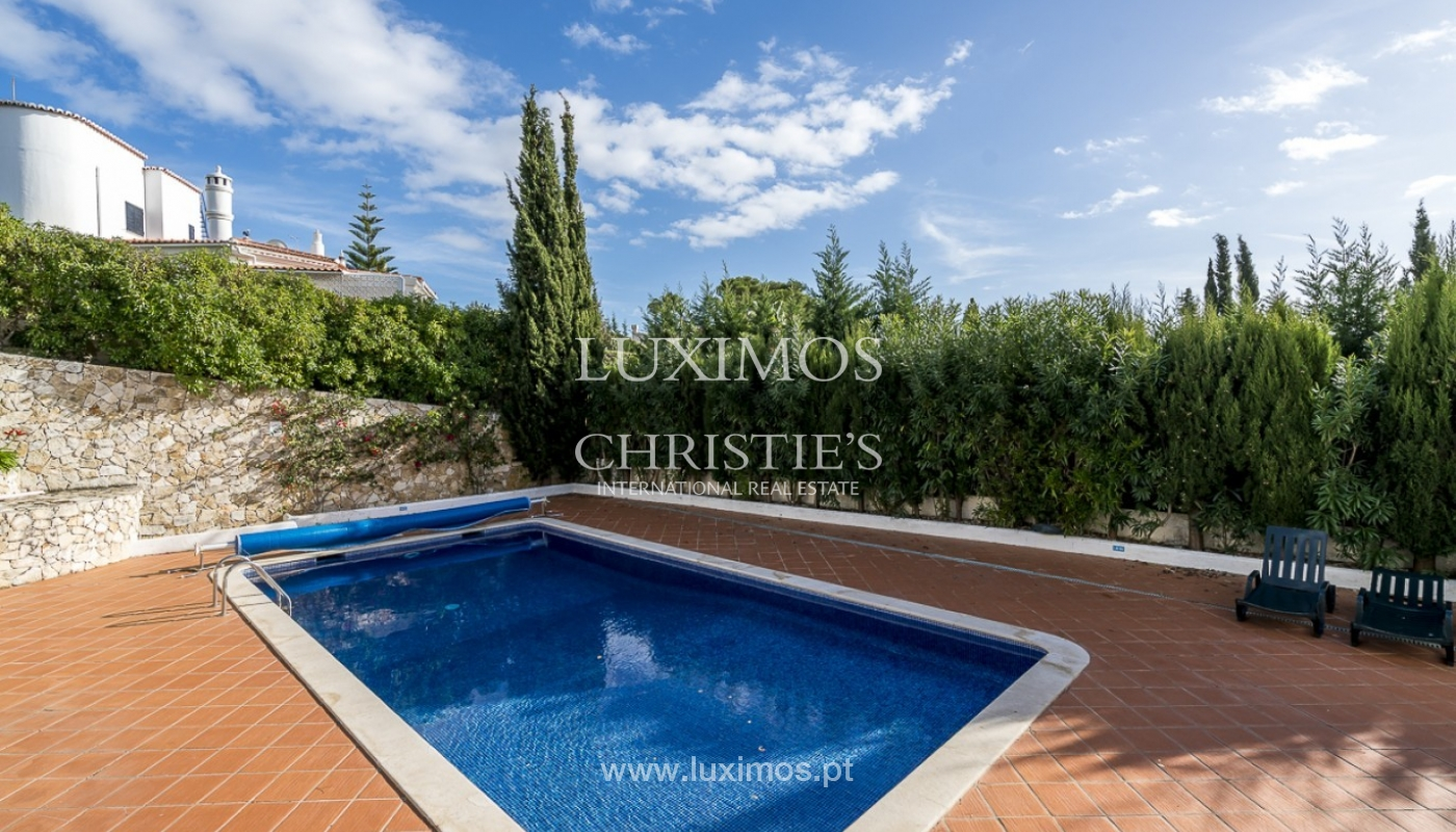 Sale of villa with pool and garden in Carvoeiro, Algarve, Portugal_89329
