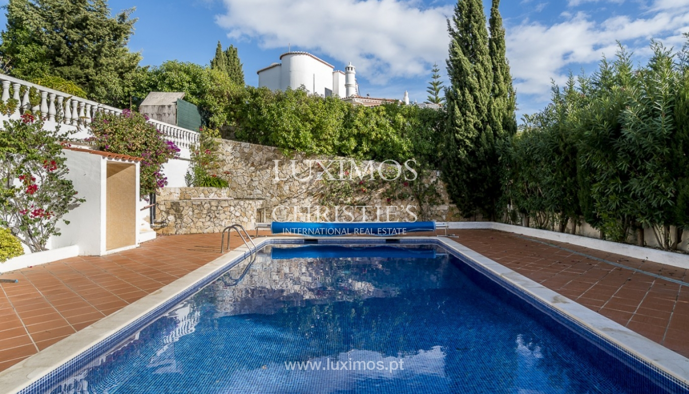 Sale of villa with pool and garden in Carvoeiro, Algarve, Portugal_89330