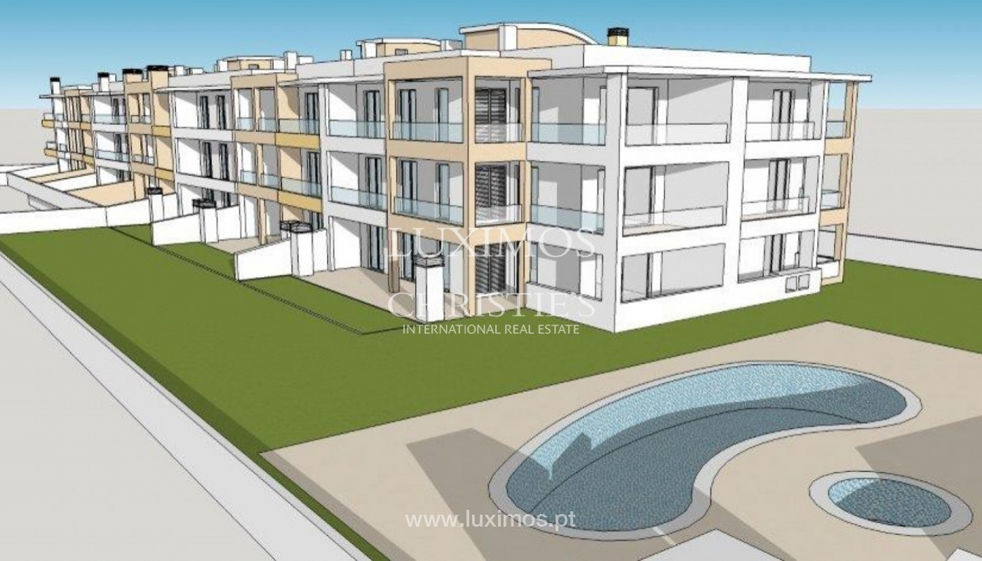 Sale of new modern apartment with sea view in Lagos, Algarve, Portugal_89435