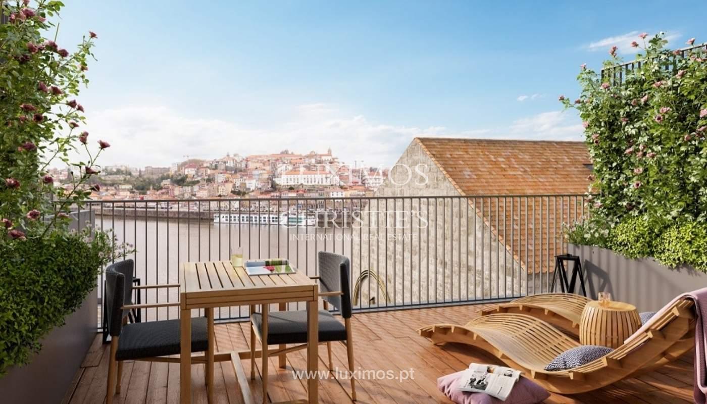Neuf appartement avec vue sur la rivière, Porto, Portugal _89898