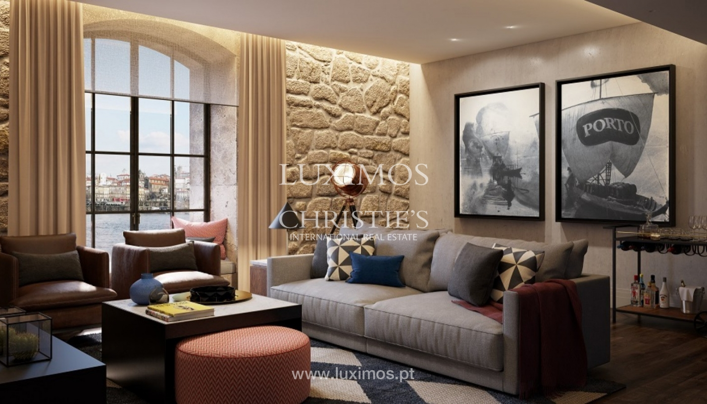 Nouvel appartement, vue sur la rivière, V. N. Gaia, Porto, Portugal _90067